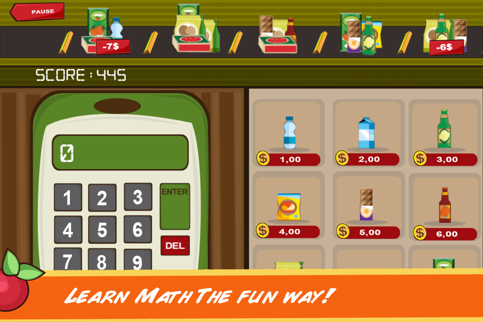 Screenshot Clever Me: Math 'n Shop free